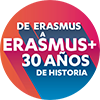 logo del 30 Aniversario Erasmus